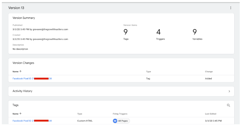 google-tag-manager-latest-version-published