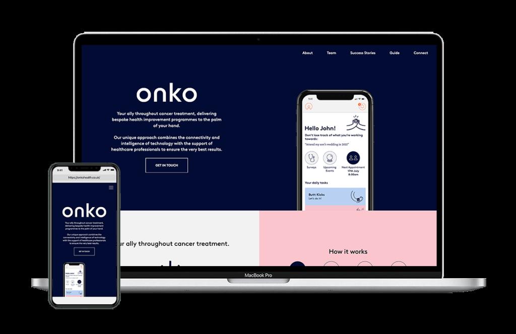 ONKO on desktop and mobile